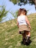 Enfant seul Photos libres de droits