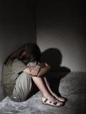 Enfant seul négligé Photo libre de droits