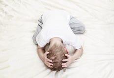 Enfant soumis à une contrainte Photographie stock libre de droits