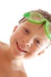Enfant spoty heureux Images libres de droits