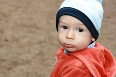 Enfant sur la promenade Photographie stock