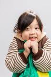 Enfant tremblant Image stock