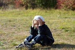 Enfant triste Images libres de droits