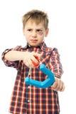 enfant vilain Photo stock