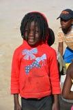 Enfant vivant dans le taudis de Mondesa Photos libres de droits