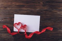 Enfantez le jour du ` s, jour du ` s de femmes, jour du mariage, jour de valentines heureux de St, le 14 février concept Symboles Image libre de droits