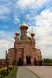 Enfantez le temple Alipio Photos libres de droits