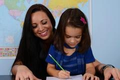 Enfants à l'école Photos libres de droits