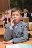 Enfants à une leçon Images libres de droits