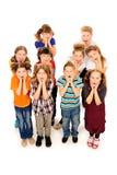Enfants étonnés Photo stock