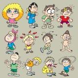 Enfants 1 illustration de vecteur