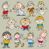 Enfants 3 illustration stock