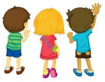 3 enfants Image libre de droits