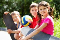 Enfants actifs Photo libre de droits
