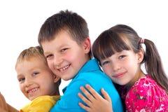 Enfants affectueux Image stock