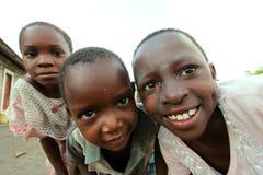 Enfants africains photo libre de droits