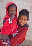 Enfants africains Photo stock