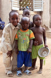 enfants africains Photographie stock