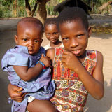 enfants africains Photo libre de droits