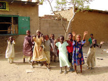 Enfants africains - Ghana Images libres de droits