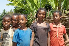 Enfants africains Photo stock