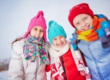 Enfants amicaux Photo stock