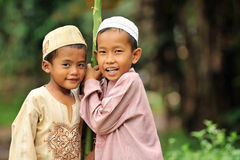Enfants, amitié Photo libre de droits
