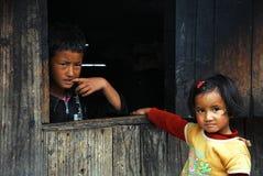 Enfants asiatiques Photos stock