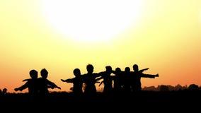 Enfants asiatiques de village Photos libres de droits