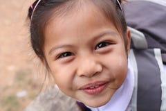 Enfants asiatiques et beau mignon dans l'uniforme scolaire Photos libres de droits