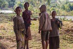 Enfants au Burundi Image libre de droits