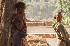 Enfants au Burundi Images stock