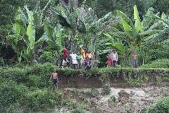 Enfants au Madagascar Image libre de droits