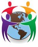 Enfants autour du monde Photo libre de droits