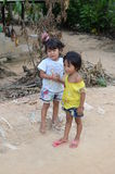 Enfants cambodgiens Photo libre de droits