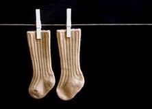 Enfants \ 'chaussettes de s Image stock