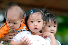 Enfants chinois Photo stock