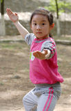 enfants chinois de KONGFU Images libres de droits