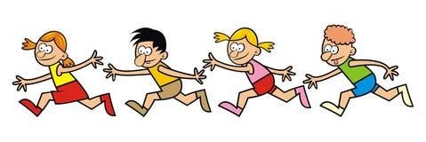 Enfants courants Image libre de droits