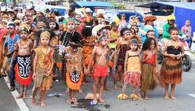 Enfants d'écart-type Negery 02 Amban d'école primaire Photos stock