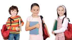 Enfants d'étudiants de Lovables Photographie stock