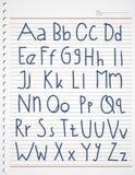 Enfants d'alphabet Photos stock