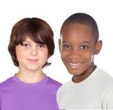 Enfants d'amis Photo libre de droits