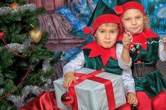 Enfants d'elfe Photos libres de droits