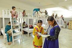 Enfants d'HIV de NGO For Images libres de droits