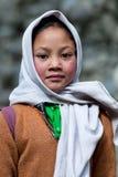 Enfants de Balti dans Ladakh, Inde Photos libres de droits
