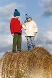 Enfants de couples Images stock