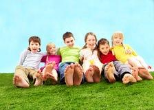 Enfants de détente Image libre de droits