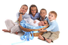 Enfants de groupe Images stock