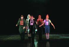 Enfants de groupe de danse Image libre de droits